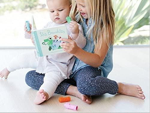 Baby and toddler toobrush and storybook Willa the Whale! Team Member