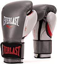 Everlast PowerLock Pro Training Gloves 16oz Grey PowerLock Pro Training Gloves