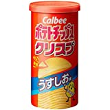 カルビー ポテトチップスクリスプ うすしお Sサイズ 50g