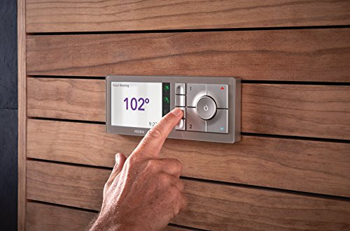 Moen U Shower Smart Home Connected Bathroom Controller, 4 Outlet Digital  Wall Mounted, TS3304TB     Amazon.com