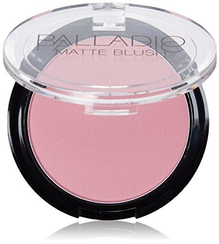 Matte Berry - Palladio Herbal Matte Blush 0.21oz (Berry Pink (BM01))