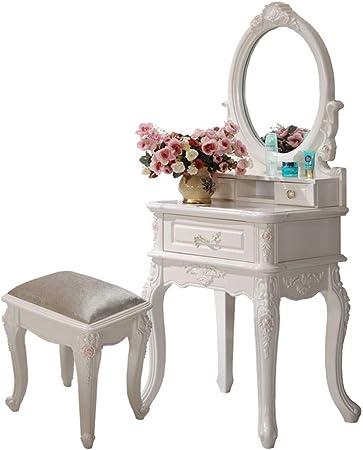 Tongsh Vanity Set De Table Mini Table De Maquillage Avec