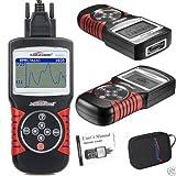 KW820 Car Scanner Tool EOBD OBD2 OBDII Diagnostic Code Reader Check Engine Scans