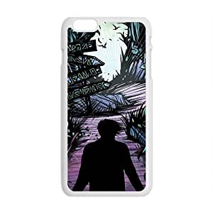 Black horrific man Cell Phone Case for Iphone 6 Plus
