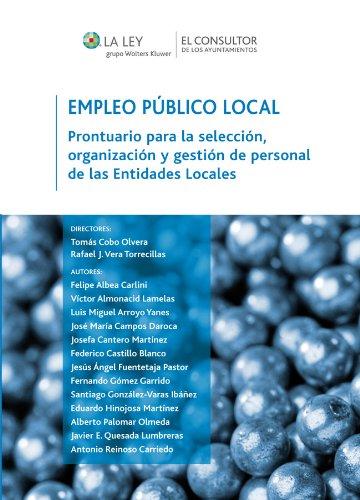 Descargar Libro Empleo Público Local Tomás Cobo Olvera