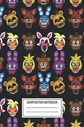 Five Nights At Freddy's Halloween (Notebook: Five Nights , Journal for Writing, Size 6