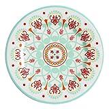 Western Style Melamine 10 1/2'' Dinner Plates (Set of 4)