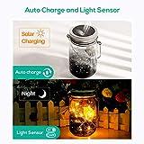 [Upgraded] Solar Mason Jar Lid Lights 30 LEDs