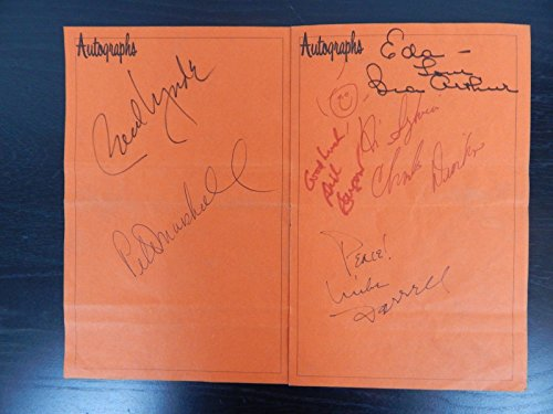 """Very Rare """"Actors & Others For Animals"""" Multi-Signed Program Mueller COA from Unknown"""