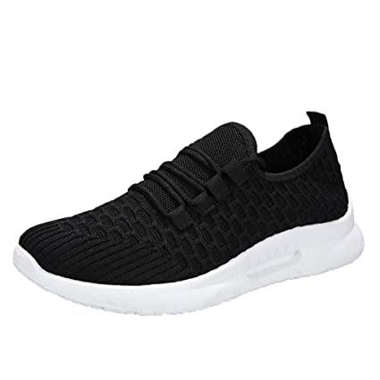 9133c5d28cf24 Amazon.com: Hurrybuy Women's Casual Walking Shoes Breathable Mesh ...