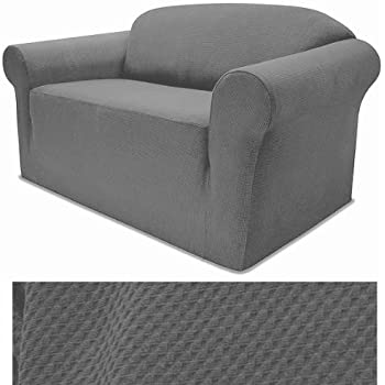 Amazon Com Jersey Stretch Form Fit Couch Cover 2 Pc