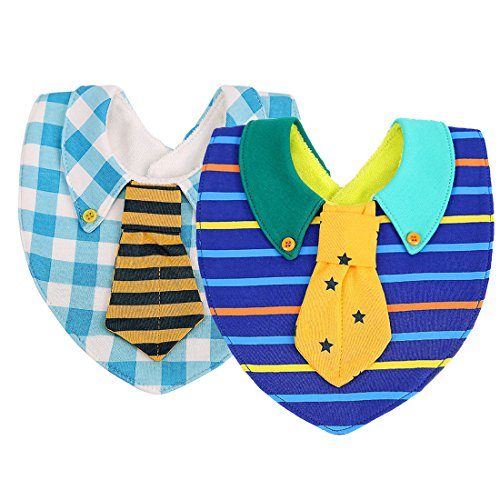 modesoda 2-Pack Plaid and Stripes Shirt Cute Baby ()