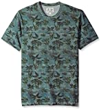 Lucky Brand Men's South Beach Printed Tee, Multi, Large