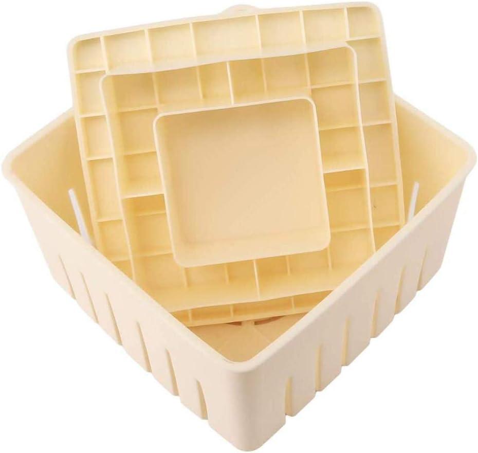 Cheese Cloth DIY Soy Pressing Mould Kitchen TooHBA Tofu Maker Press Mold Kit