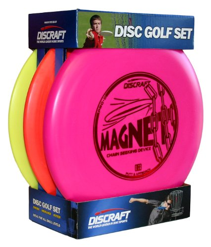 Discraft DSSB  Beginner Disc Golf Set (3-Pack) by Discraft