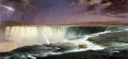 The Museum Outlet - Art Postcard - Niagara by Frederick Edwin Church - Set of 12 - Niagara Outlet New