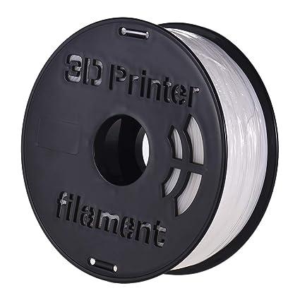 Aibecy 1KG / Spool Impresora 3D HIPS Filamento 1.75 mm HIPS Blanco ...