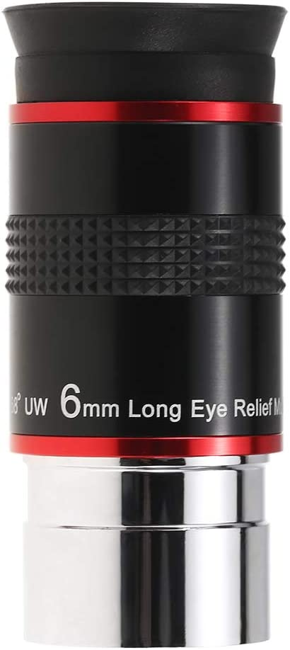 9MM 20MM 1.25INCH 68 Degree Wide Angle Eyepiece Planetary Eye Lens Astronomical Telescope Eyepiece 6MM Walmeck 15MM