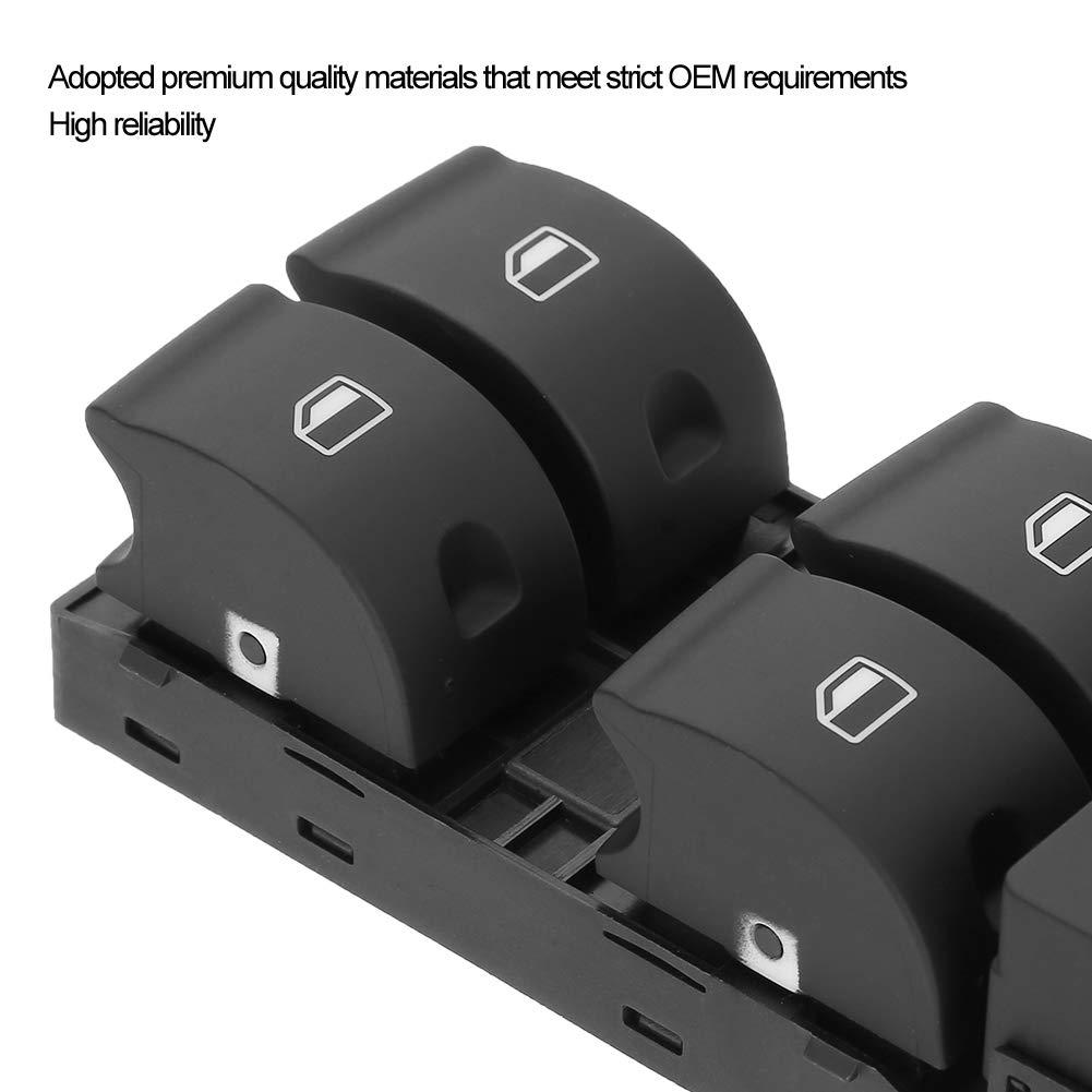 ABS 8ED 959 851 Interrupteur principal de l/ève-vitre /électrique pour A4 S4 B6 B7 RS4 SEAT Exeo L/ève-vitre /électrique principal