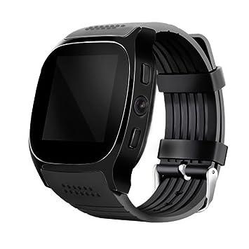 Woopower T8 Smart Watches Soporte Tarjeta SIM & TF con Cámara Sincronización Mensaje de Llamada Hombres