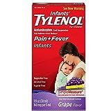 infant grape tylenol - TYLENOL Infants' Oral Suspension Grape Flavor 1 oz (Pack of 18)