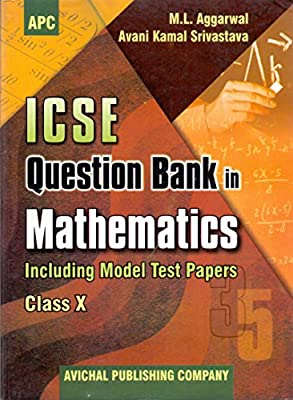 Amazon in: Buy ICSE Question Bank in Mathematics Class- X