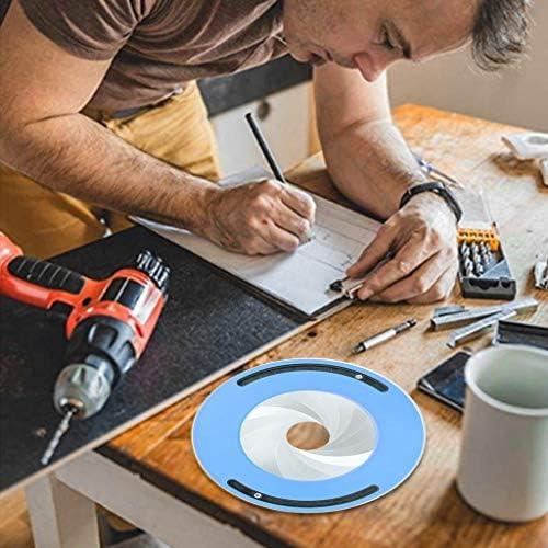 BINGHONG3 Regla de Dibujo de círculo, Herramienta Flexible y Ajustable para Trabajar la Madera: Amazon.es: Hogar