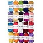 TYH Supplies 20 Skeins Bonbons Yarn A...