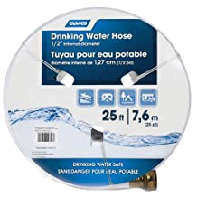 Camco 22735 1/2-Inch ID x 25-Feet Drinking Water Hose