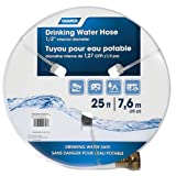 "Camco 25ft TastePURE Drinking Water Hose- Lead and BPA Free, Reinforced for Maximum Kink Resistance 1/2"" Inner Diameter (22735)"