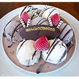 バースデーアイスケーキ チョコver 5号 【誕生日プレートが選べる★3種類】(おたんじょうび おめでとう)