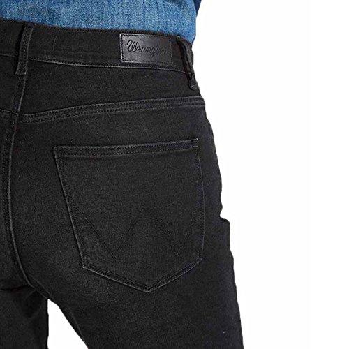 Black 6R Nighttime Femme Noir Jeans Wrangler wfqBIPX