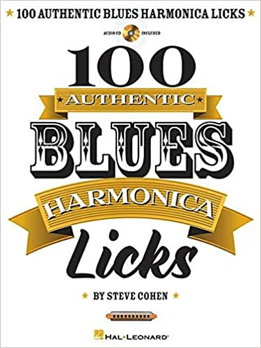 Cohen Steve 100 Authentic Blues Harmonica Licks Harm Bk/Cd