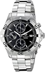 TAG Heuer Men's CAF2110.BA0809 2000 Aquaracer Automatic Chronograph Watch