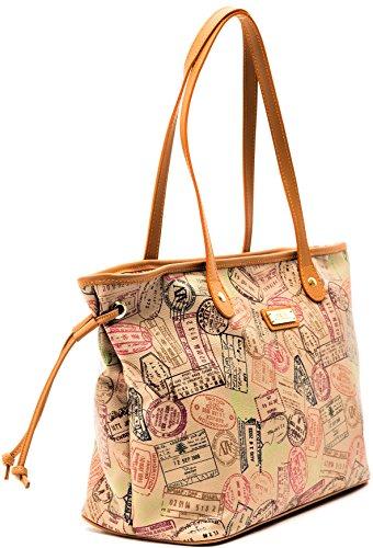 Borsa Piccola Donna Safari Alviero Martini Small Bag Woman Beige