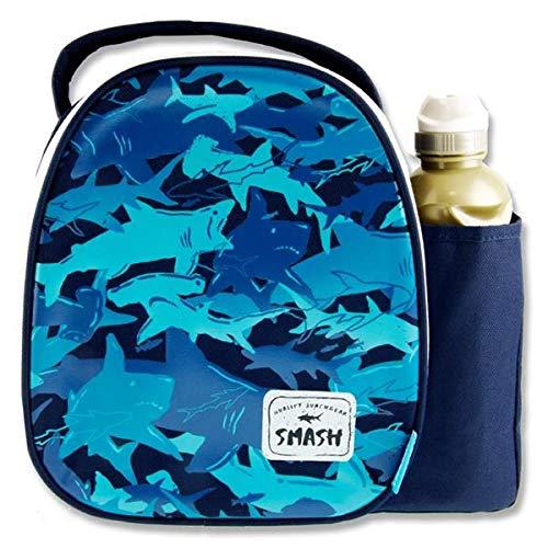 Smash Junior Premium School Lunch Box /& Drinks Bottle Shark Camo