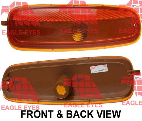 CHEVY EXPRESS VAN 96-02 FRONT RIGHT SIDE MARKER, Lens & w/ Sealed Beam Head LAMP (02 96 Express Front Chevy)