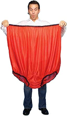 Forum Novelties Adult Gag Gift Big Man Undies Oversized Briefs