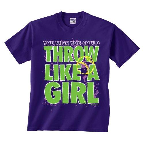 Softball Throw Like a Girl