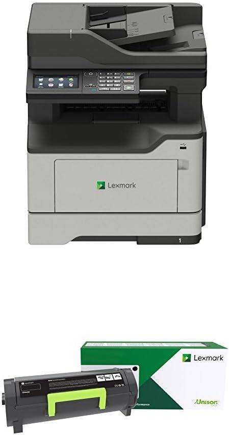 "Lexmark Monochrome Printer 4.3"" Grey (36S0700) and Extra High Yield Return Program Toner Cartridge Black"