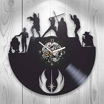 Amazon.com: Decoración, Pared, diseño de disco de vinilo ...