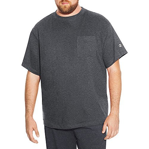 (Champion Big & Tall Men's Short Sleeve Pocket Jersey Tee)