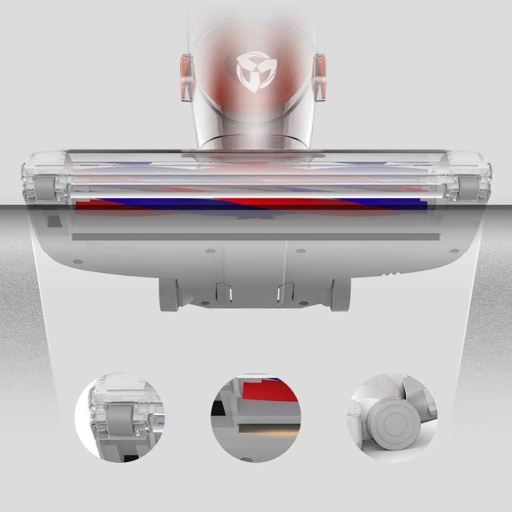 asdasd Aspirateur sans Fil pour Tapis et sols durs Batterie Lithium-ION Rechargeable Hepa Filtration Technologie cyclonique Blanc (Couleur: Blanc)-Blanc Blanc