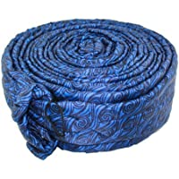 30FT BLUE PADDED QUILTED ZIPPER HOSE COVER