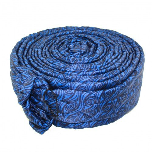 Soft Touch 30FT Blue Padded Quilted Zipper Hose Cover