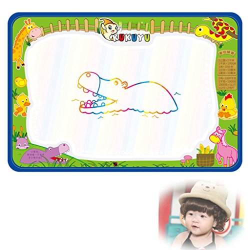 Yogogo - Jouets éducatifs - Baby - Dessin Peinture Eau magique Cadeau Doodle Pen Writing Conseil Mat