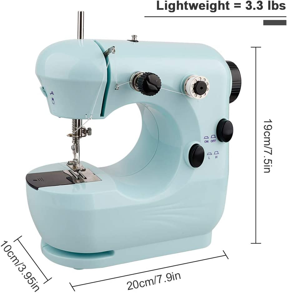 Elikliv Household Multi-Function Sewing Machine Electric Micro-Sewing Machine Mini Sewing Machine
