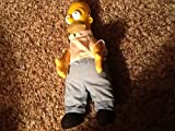 "The Simpsons Vintage HOMER SIMPSON Collectible 11"" Plush Doll (1990)"