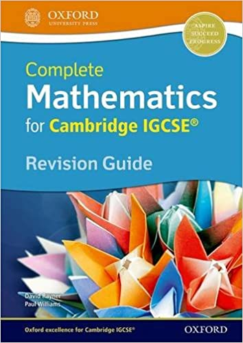 Amazon complete mathematics for cambridge igcserg revision amazon complete mathematics for cambridge igcserg revision guide 9780199154876 david rayner paul williams books fandeluxe Image collections
