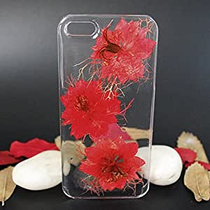 Customized Clear Real Flower Phone Case for Samsung Galaxy Note 5(2)